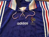 Classic Football Shirts | 1996  France Vintage Old Jersey